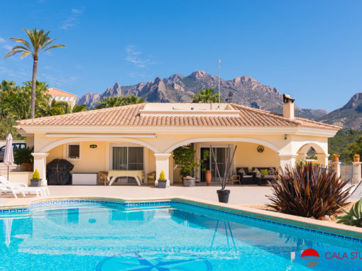 Professional real estate photography busot costa blanca