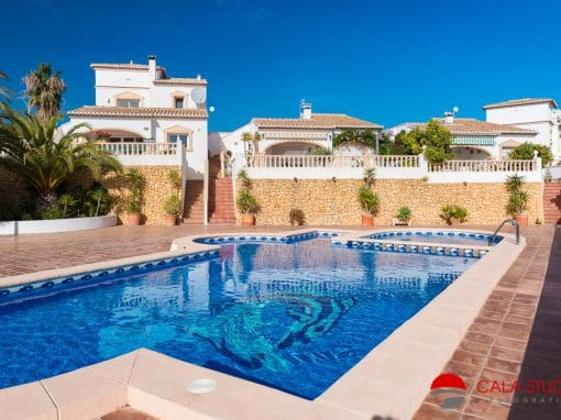 Calpe Holiday Rental Villa Photography