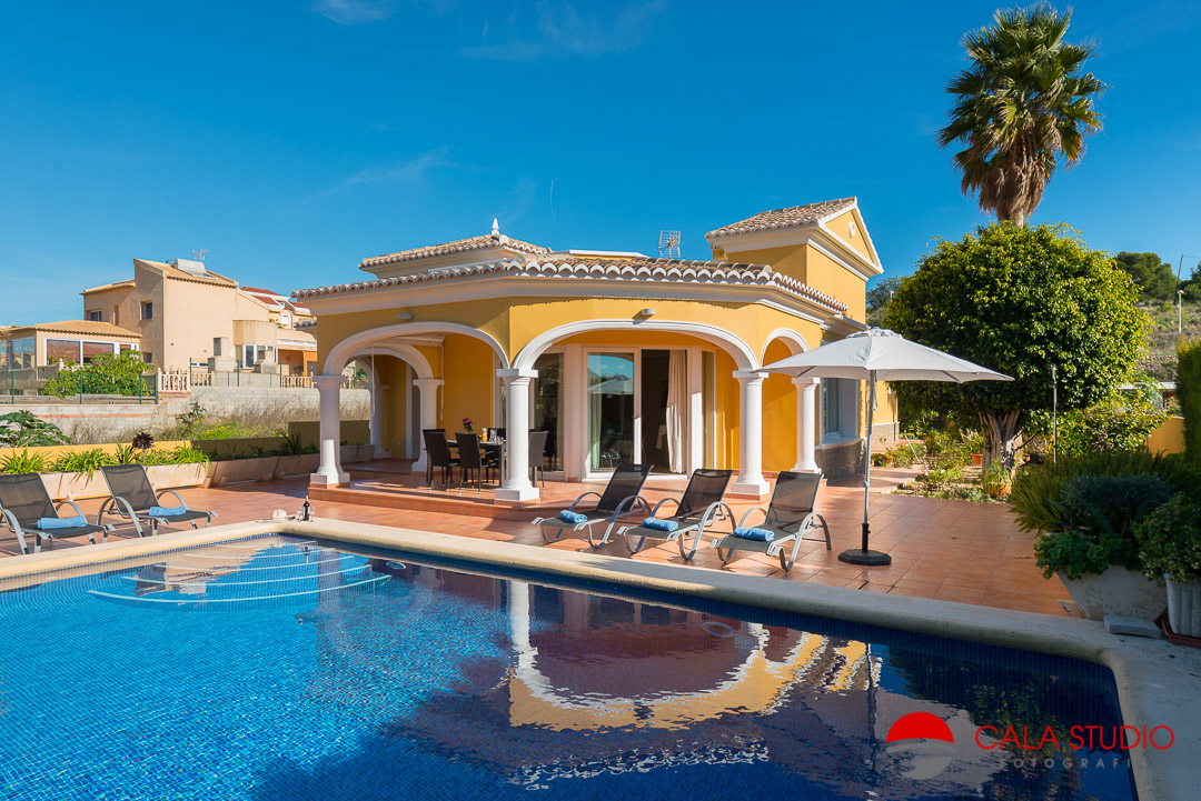 Calpe Holiday Villa Photographer Costa Blanca