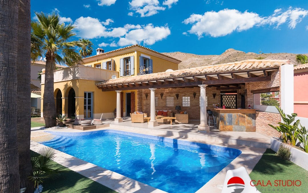 Before and After Costa Blanca Real Estate Photographer