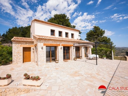 Calpe Real Estate Photographer Villa For Sale